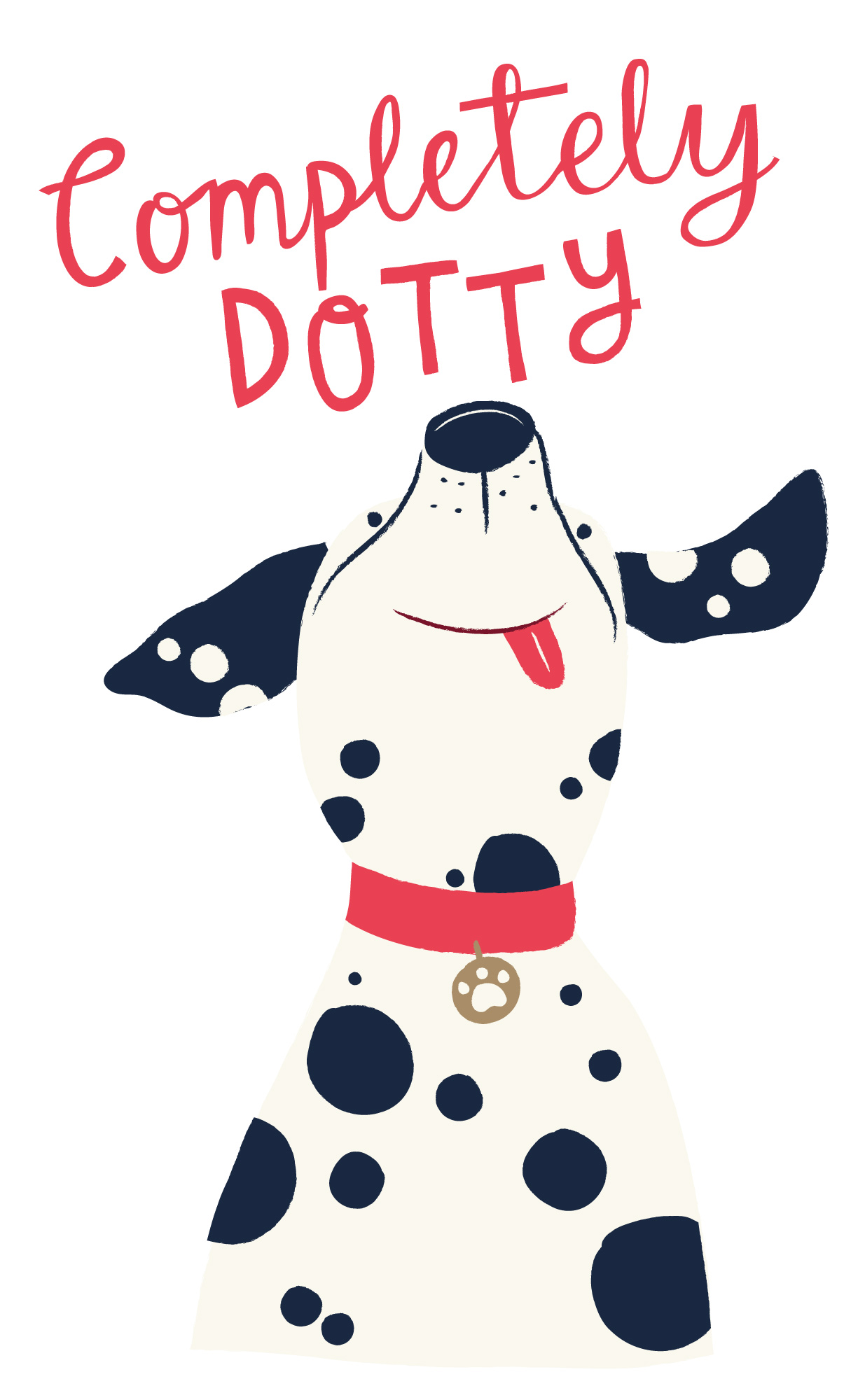 Completely Dotty Dalmatian print for Joules