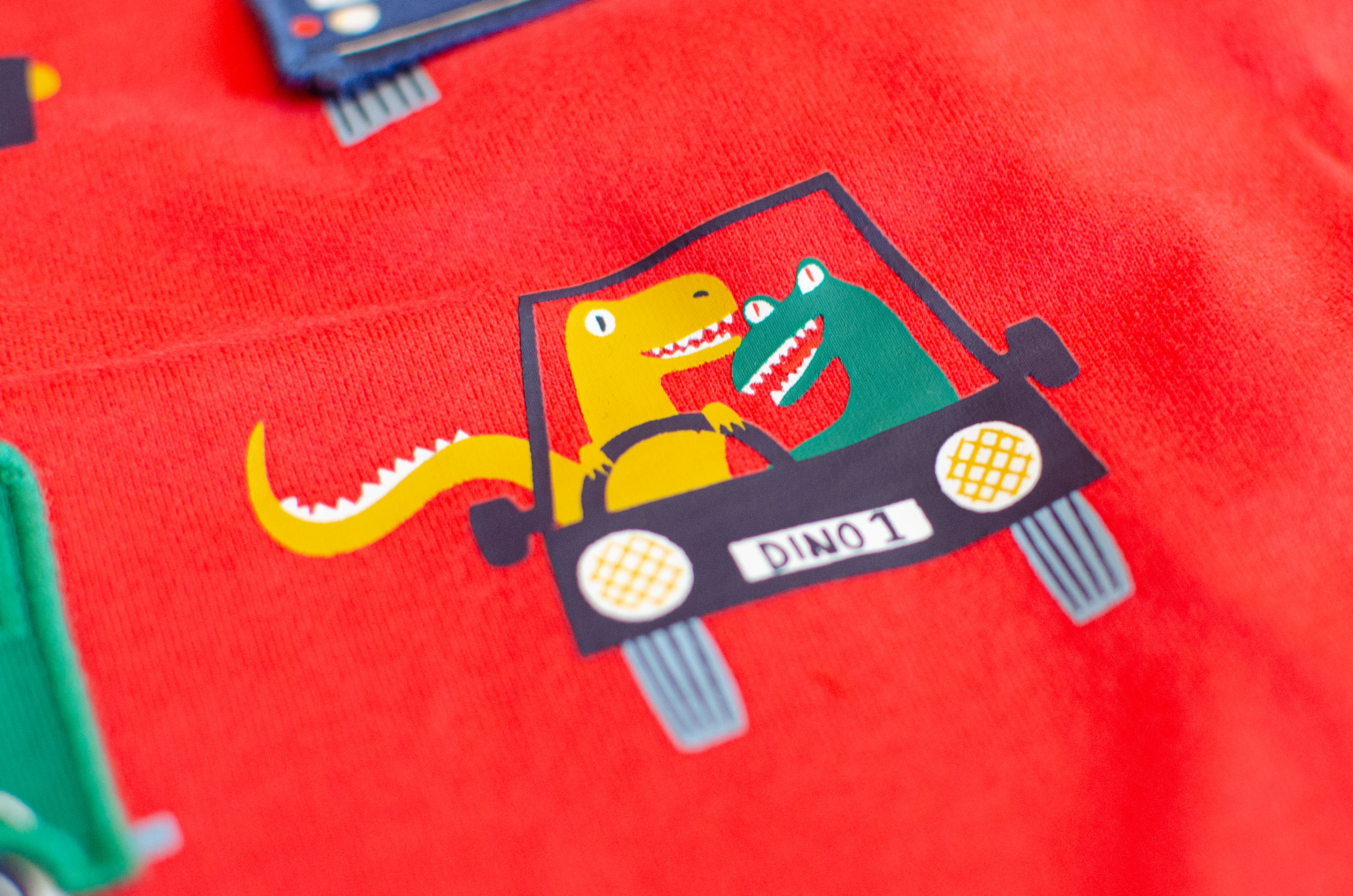 Close up of children's t-shirt illustration by Elly Jahnz for Joules