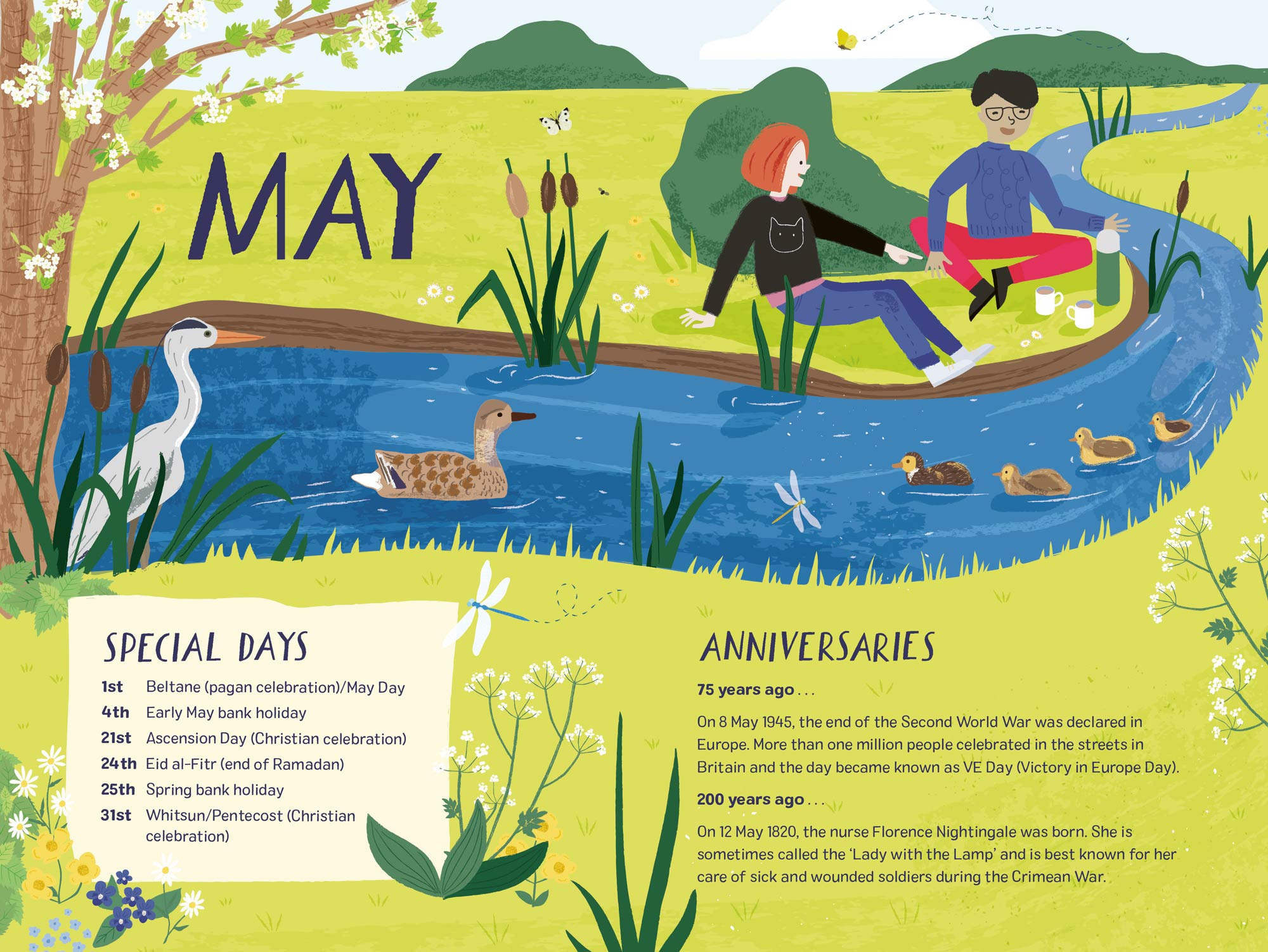 2020 Nature Month by Month portfolio cover image