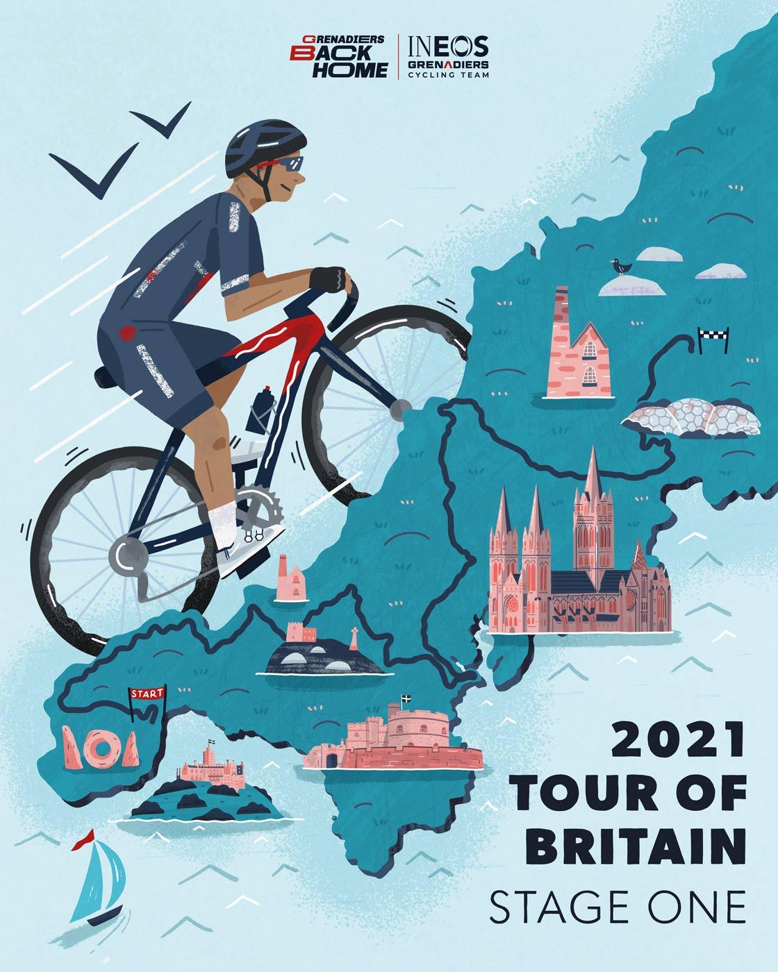 Tour of Britain Poster portfolio cover image
